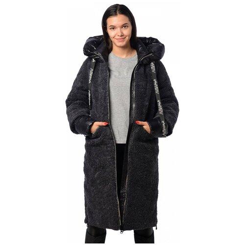 Зимняя куртка женская EVACANA 21711 (Темн. серый/48)