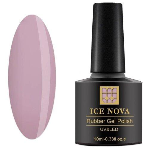 Купить Гель-лак для ногтей ICE NOVA Rubber Gel Polish, 10 мл, 035