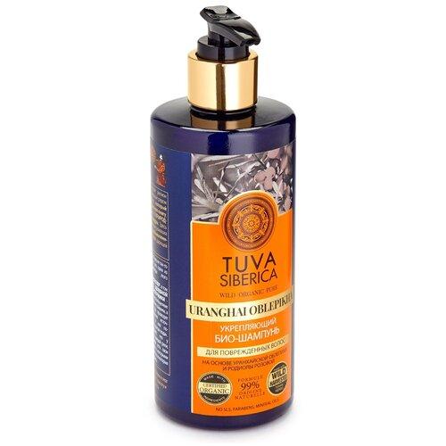 Natura Siberica био-шампунь Tuva Укрепляющий для поврежденных волос, 300 мл