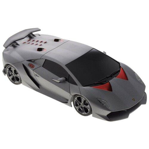 Купить Легковой автомобиль Rastar Lamborghini Sesto Elemento (53700) 1:18 серый, Радиоуправляемые игрушки