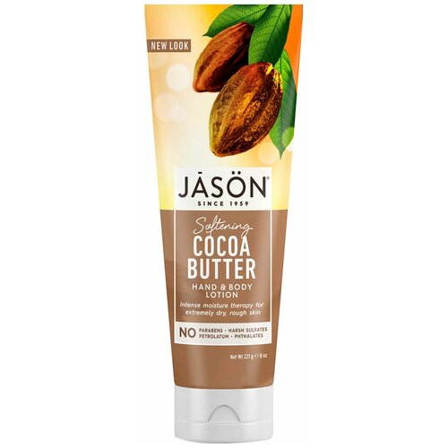 Лосьон для тела JASON Cocoa Butter Hand and Body Lotion, 227 г