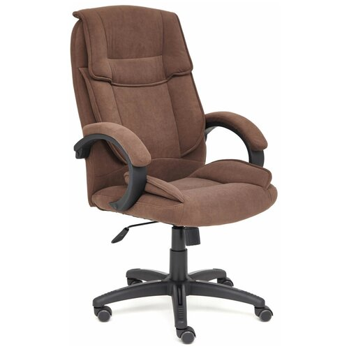 Компьютерное кресло TetChair Oreon (обивка ткань) для руководителя, обивка: текстиль, цвет: коричневый