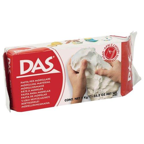 Купить Паста для моделирования, 1000 грамм (белая), Das, Пластилин и масса для лепки