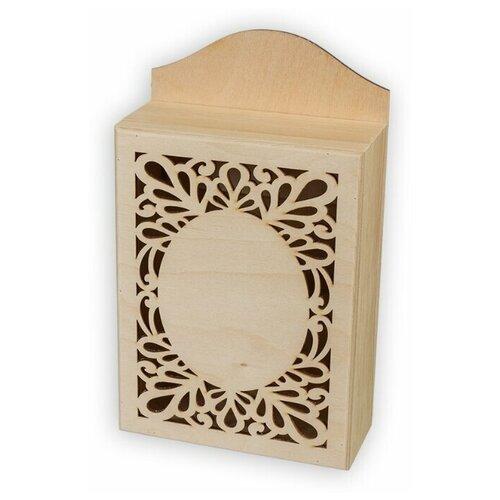 Купить Mr. Carving Заготовка для декорирования Ключница резная ВД-488 бежевый, Декоративные элементы и материалы