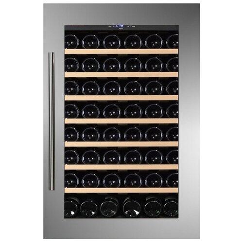 Фото - Встраиваемый винный шкаф Dunavox DAB-48.125SS винный шкаф 81 л на 32 бутылки монотемпературный серый dau 32 81ss dunavox
