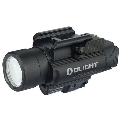 Фото - Светодиодный пистолетный фонарь Olight BALDR RL, 2 x CR123A, диод Cree XH-P 35 HI/Laser Red, 4 режима, 240 метров, 1120 люмен фонарь olight baldr pro