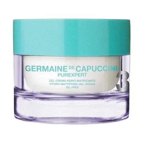 Germaine de Capuccini PUREXPERT Hydro-Mattifying Gel-Cream Oil-Free Гель-крем для лица с гидроматирующим эффектом, 50 мл germaine de capuccini крем white spot correction cream spf20 для коррекции пигментных пятен 50 мл