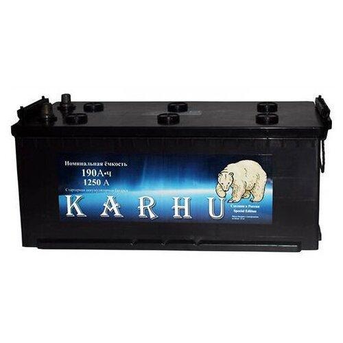 Аккумулятор для грузовиков KARHU 6СТ190з 1250A