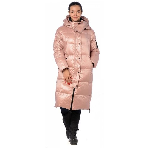 Зимняя куртка женская EVACANA 21040 (Розовый/44)