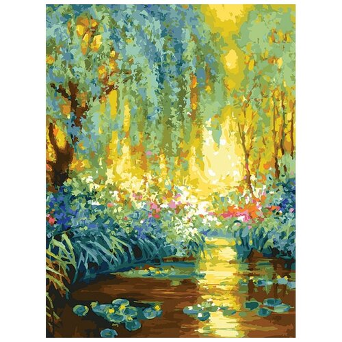 Купить Белоснежка Картина по номерам Майское утро в Живерни 30x40 см (223-AS), Картины по номерам и контурам