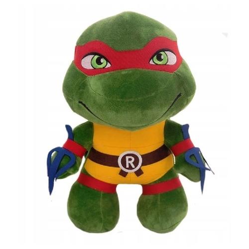 Мягкая игрушка - Черепашка Ниндзя красная повязка (Рафаэль), 25см