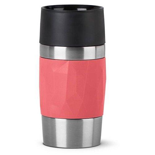 Фото - Термокружка EMSA Travel Mug Compact, 0.3 л розовый термокружка emsa travel mug grande 0 5 л красный
