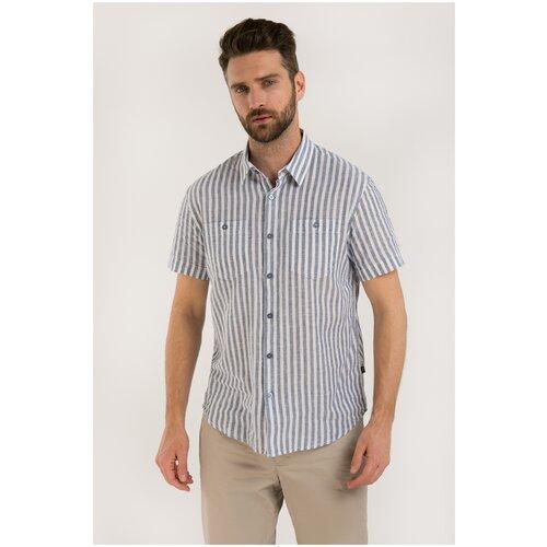 Рубашка FiNN FLARE размер 2XL голубой (122)