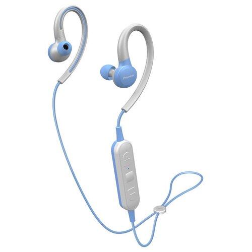 Беспроводные наушники Pioneer SE-E6BT, blue/gray