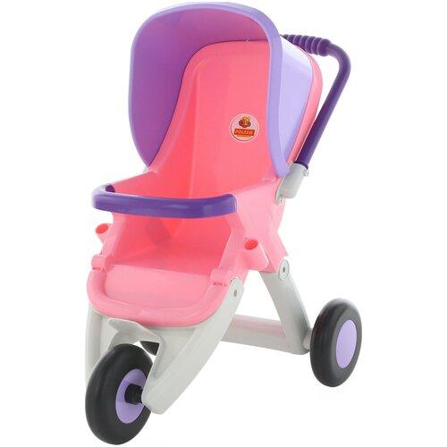 Купить Прогулочная коляска Полесье 3 колеса (48127), Коляски для кукол
