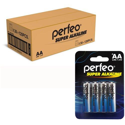 Perfeo PF LR6/4SH Батарейка батарейка perfeo алкалиновая pf lr6 4sh