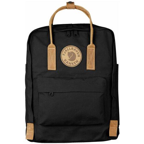 Фото - Городской рюкзак Fjallraven Kånken No.2 16, черный рюкзак fjallraven kånken no 2 laptop 15 black edition 18 черный