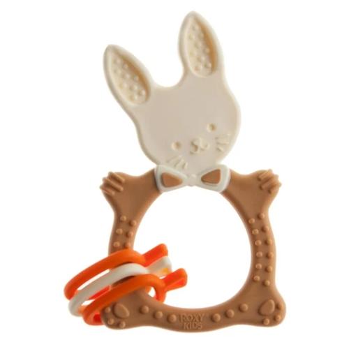 Прорезыватель ROXY-KIDS Bunny шоколадный