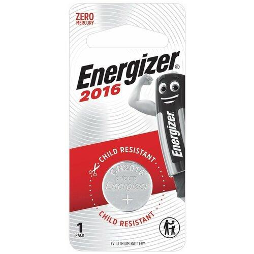 Фото - Батарейка Energizer CR2016, 1 шт., 10 уп. батарейка energizer max plus aa 4 шт