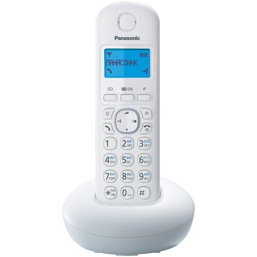Радиотелефон Panasonic KX-TGB210 белый