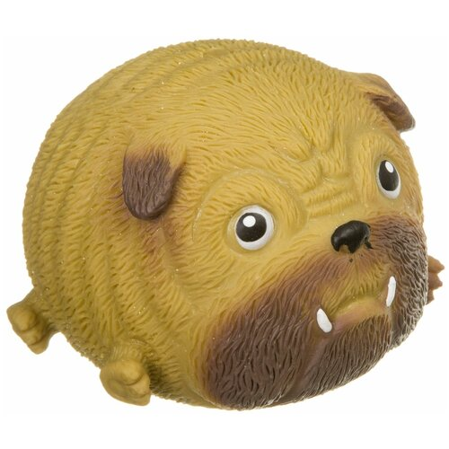 Фото - Игрушка-мялка BONDIBON Чудики Любимец Боксер ВВ3982 бежевый/коричневый игрушка мялка bondibon чудики жмун паук
