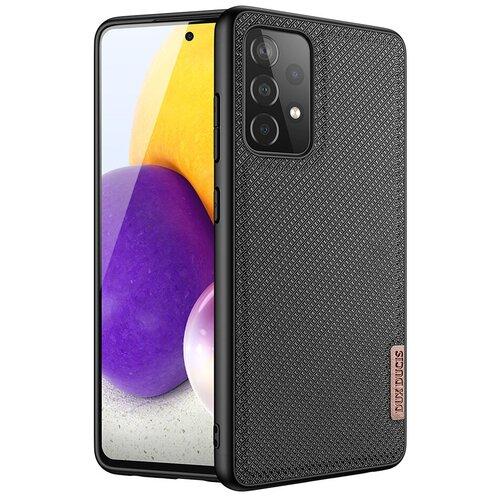 Чехол силиконовый Dux Ducis для Samsung Galaxy A72 4G / A72 5G, Fino series, черный