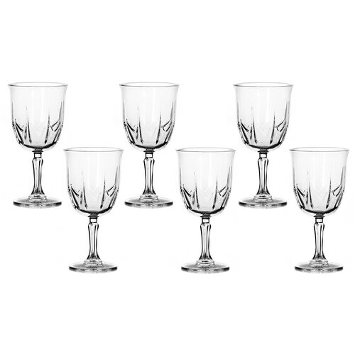 Pasabahce Набор бокалов для вина Karat 6 шт 415 мл прозрачный pasabahce набор бокалов tulipe 200 мл 6 шт прозрачный