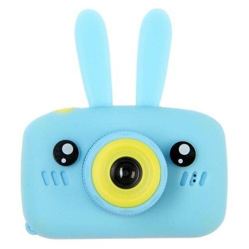 "Фотоаппарат Сима-ленд KIDS Fun Camera Bunny ""Зайчик"" голубой"