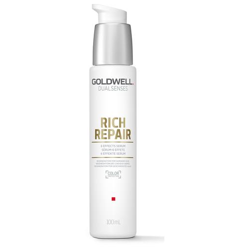 Купить Goldwell DUALSENSES RICH REPAIR Сыворотка 6-кратного действия для поврежденных волос, 100 мл