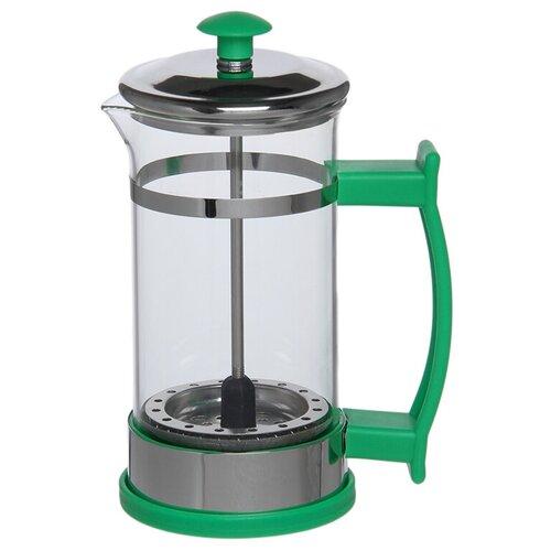 Френч-пресс Доляна Риц (0.35 л) зеленый