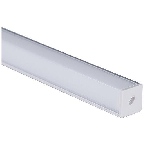 Квадратный угловой алюминиевый профиль для светодиодной ленты Elektrostandard LL-2-ALP009 Квадратный угловой алюминиевый профиль для LED ленты (под ленту до 10mm)