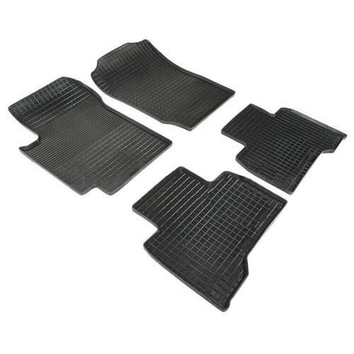 Резиновые ковры в салон Seintex ST83428