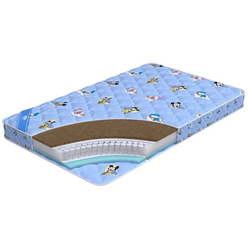 Фото - Матрас детский Промтекс-Ориент Teen Стандарт Комби, 70x140 см, пружинный матрас детский промтекс ориент teen стандарт 70x160 пружинный голубой
