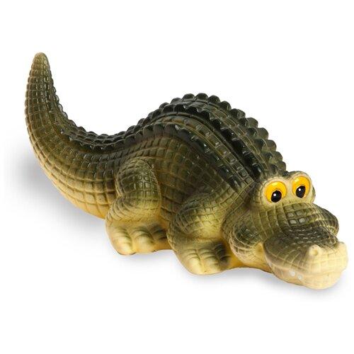 Фото - Игрушка для ванной ОГОНЁК Крокодил Кирилл (С-840) зеленый/желтый игрушка для ванной огонёк утенок с 355 желтый красный
