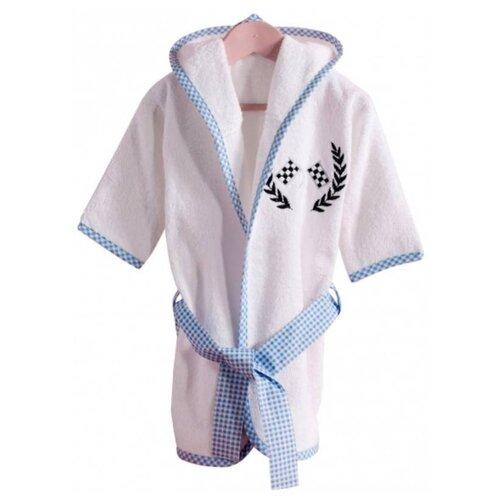 Купить Халат махровый Kidboo серии Lets Race (размер 1, 75 см), Домашняя одежда