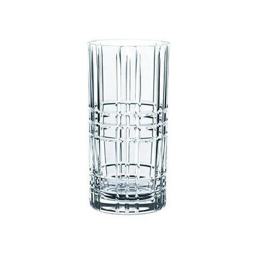 Фото - Nachtmann Набор стаканов Square Longdrink 101049 4 шт. 445 мл бесцветный набор высоких стаканов nachtmann 4 предмета 445 мл 101049