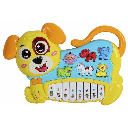 Smart Baby пианино Собака 1702379-R1 желтый