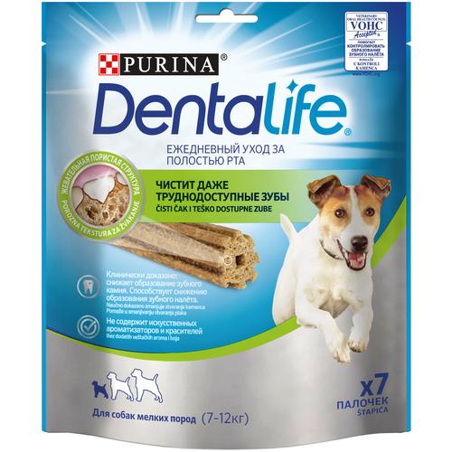 Лакомство для собак Dentalife Уход за полостью рта для мелких пород, 7 шт. в уп.