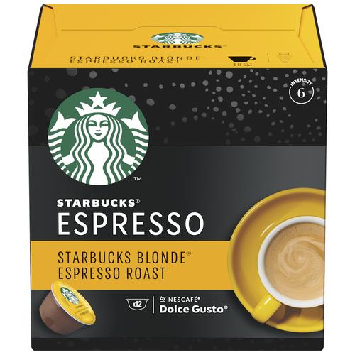 Starbucks Blonde® Espresso Roast, 12 капс.