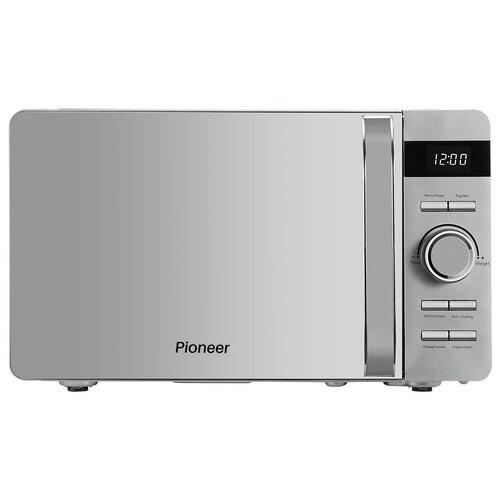 Микроволновая печь Pioneer MW229D 20 л с LED-дисплеем и цифровым управлением, 8 автоматических программ, 5 уровней мощности, таймер, 700 Вт
