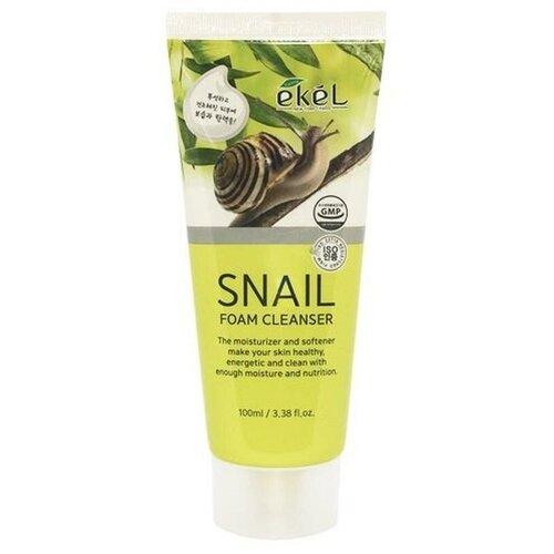 Купить Ekel пенка для умывания с муцином улитки Snail Foam Cleanser, 100 мл