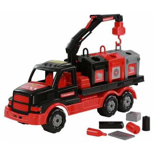Автомобиль контейнеровоз MAMMOET 45 см