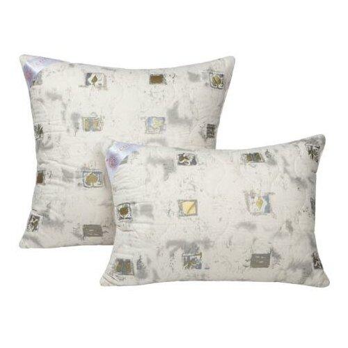 Подушка с шерстью мериноса Золотое руно Ecotex 50х70