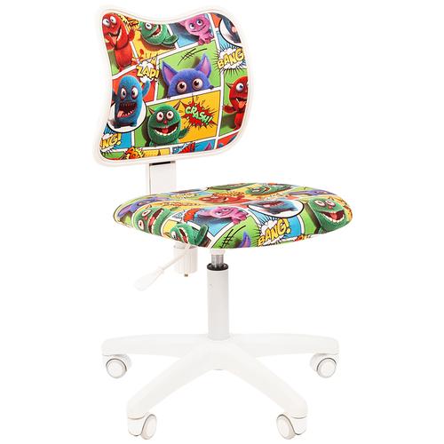 Фото - Компьютерное кресло Chairman Kids 102 детское, обивка: текстиль, цвет: монстры компьютерное кресло chairman kids 101 детское обивка текстиль цвет монстры