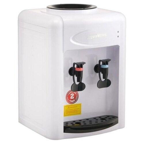 Настольный кулер Aqua Work 0.7-TDR белый/черный
