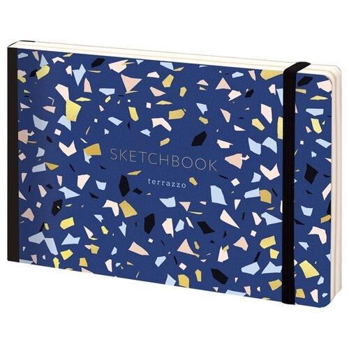 Купить Скетчбук Greenwich Line Italia terrazzo 21 х 14.8 см (A5), 100 г/м², 80 л., Альбомы для рисования