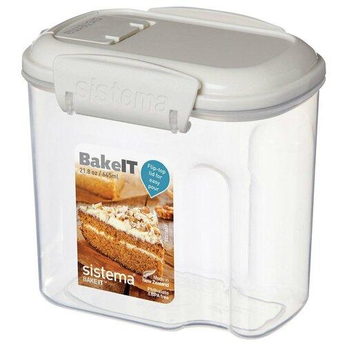Фото - Sistema Контейнер BAKE-IT 1202, 8.7x12 см, прозрачный sistema контейнер с чашкой bake it 1250 13x17 5 см прозрачный