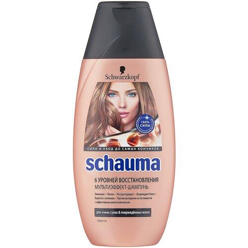 Купить Schauma шампунь 6 уровней восстановления, 225 мл