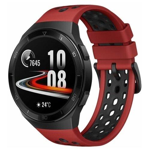 Умные часы HUAWEI Watch GT 2e, red умные часы huawei watch gt active dark green
