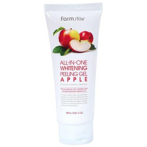 Купить Farmstay пилинг для лица All-In-One Whitening Peeling Gel Apple 180 мл